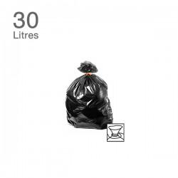 50 Sacs poubelles - 30 L - 35 microns