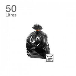 25 sacs poubelles - 50L - 30 microns
