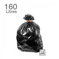 100  Sacs poubelles - 160 L - 55 microns