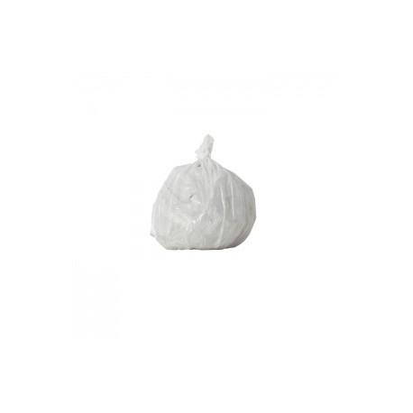 50 Sacs poubelles  blancs - 20 L - 11 microns