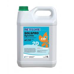 Détergent SOLSPRO NETFLORE 2D Agrumes - 5 L