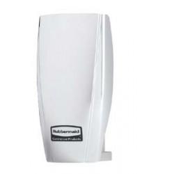 Diffuseur automatique parfum sans pile T Cell blanc de Rubbermaid.