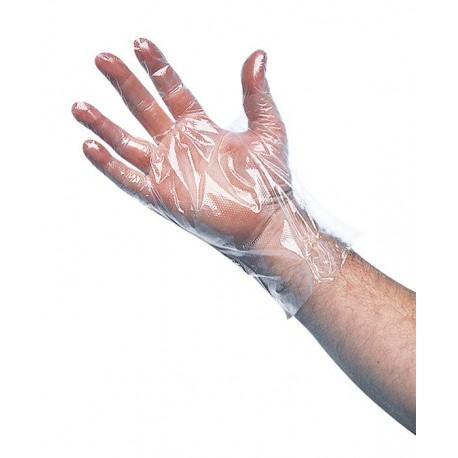 Gant polyéthylène