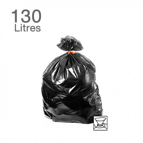 25  Sacs poubelles - 110 L - 55 microns
