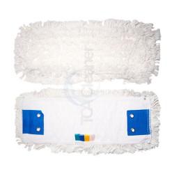 Frange coton poches et languettes avec 2 oeillets
