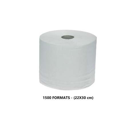 1500 fts recyclée blanc 2 pl. 22x30cm