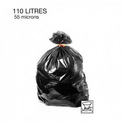 100  Sacs poubelles - 110 L - 55 microns