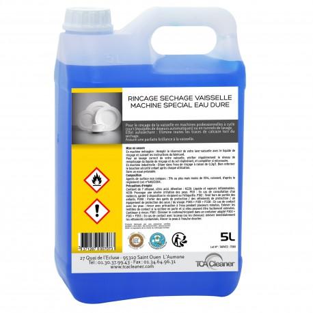 Liquide de Rinçage- Spécial Eaux dures- 5L