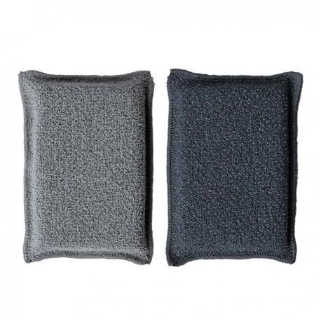 1 Eponge Microfibre face lisse et face grattante