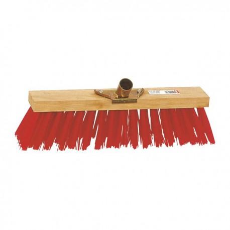 Balai Cantonnier  PVC - 60cm - Rouge