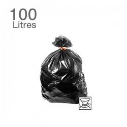 25  Sacs poubelles - 100 L - 55microns
