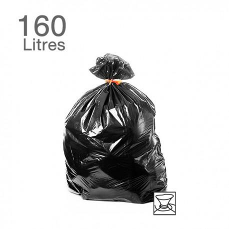 25  Sacs poubelles - 160 L - 55 microns
