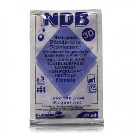 26 Dosettes NDB 3D multi-surfaces - Senteur Lavande