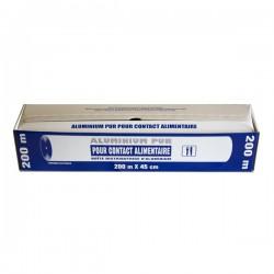 Papier Aluminum Alimentaire 200 x 44 cm
