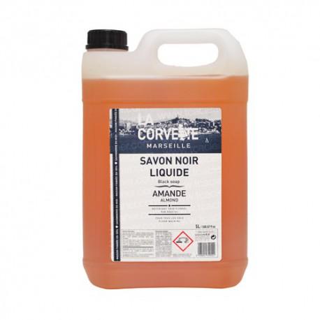 Savon Noir parfumé à l'Amande - La Corvette - 5 L