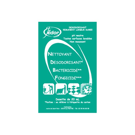250 Dosettes JEDOR 3D Senteur Pin