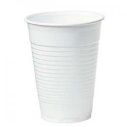 3000 gobelets plastique blanc 18/20 cl