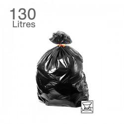100  Sacs poubelles - 130 L - 65 microns