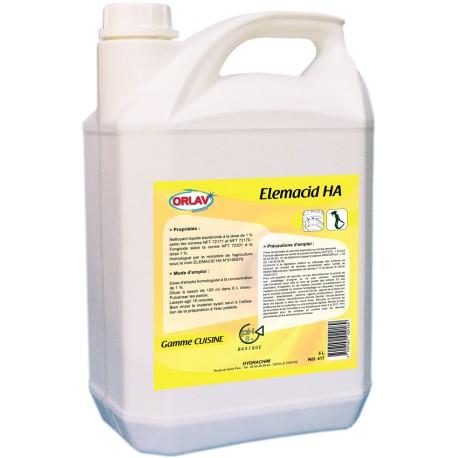 Elemacid HA - Détergent Désinfectant Bactéricide