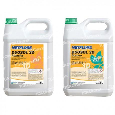Détergent Désinfectant Netflore Duosol Bornéo - 5 L