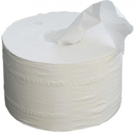 Papier toilette pour dévidage central