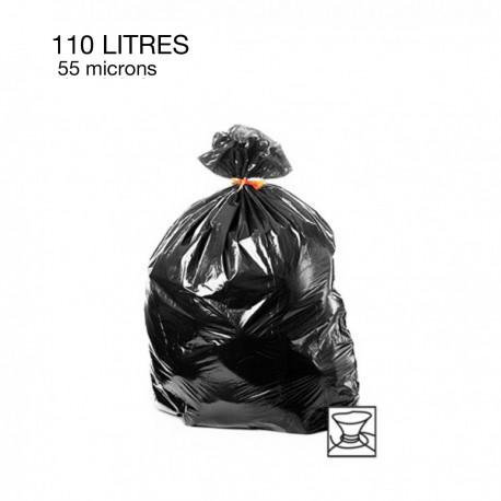 20  Sacs poubelles - 110 L - 55 microns